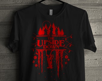 Stranger Things Shirt - The Upside Down - Demogorgon Shirt