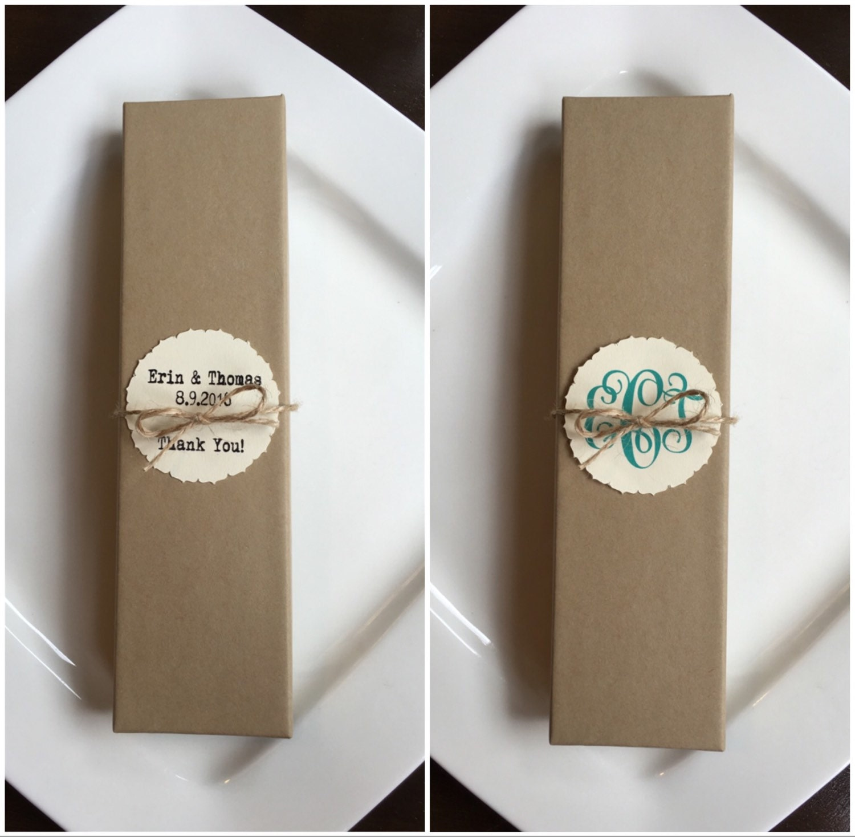 Wedding Gift Quiz : 8x2 Kraft Gift box-Wedding Favor Boxes-Wedding Gift Wrap-Test