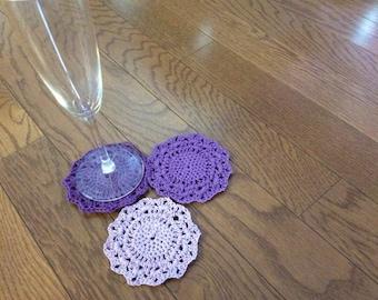 Hand Crochet Coasters
