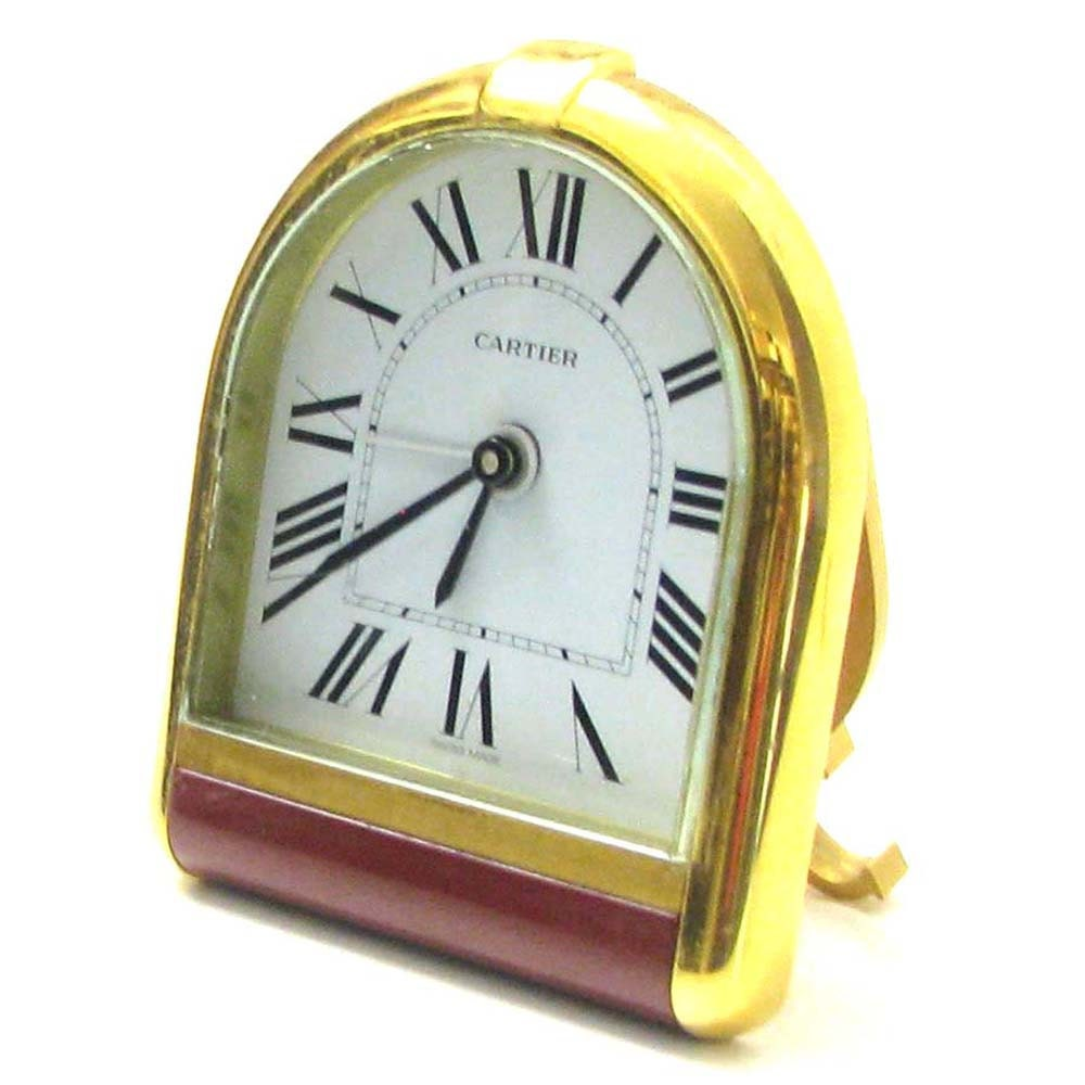 Cartier romane office or travel vintage clock zoom amipublicfo Images