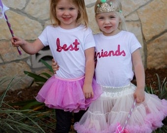 Best Friend toddler tees