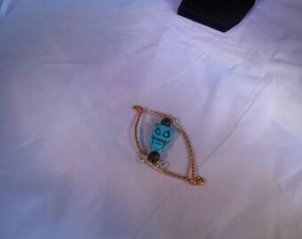Copper Scarf Pin/Clip