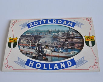 "Block of vintage cards ""Rotterdam-Holland"""