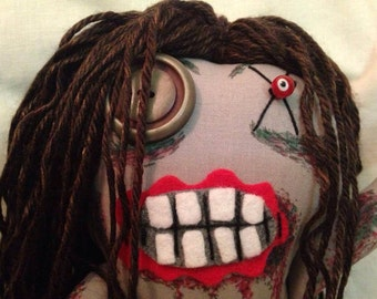 """Bicycle Girl - Inspired by TWD - Creepy n Cute Zombie Doll - """"Bicycle Girl"""" (P)"""