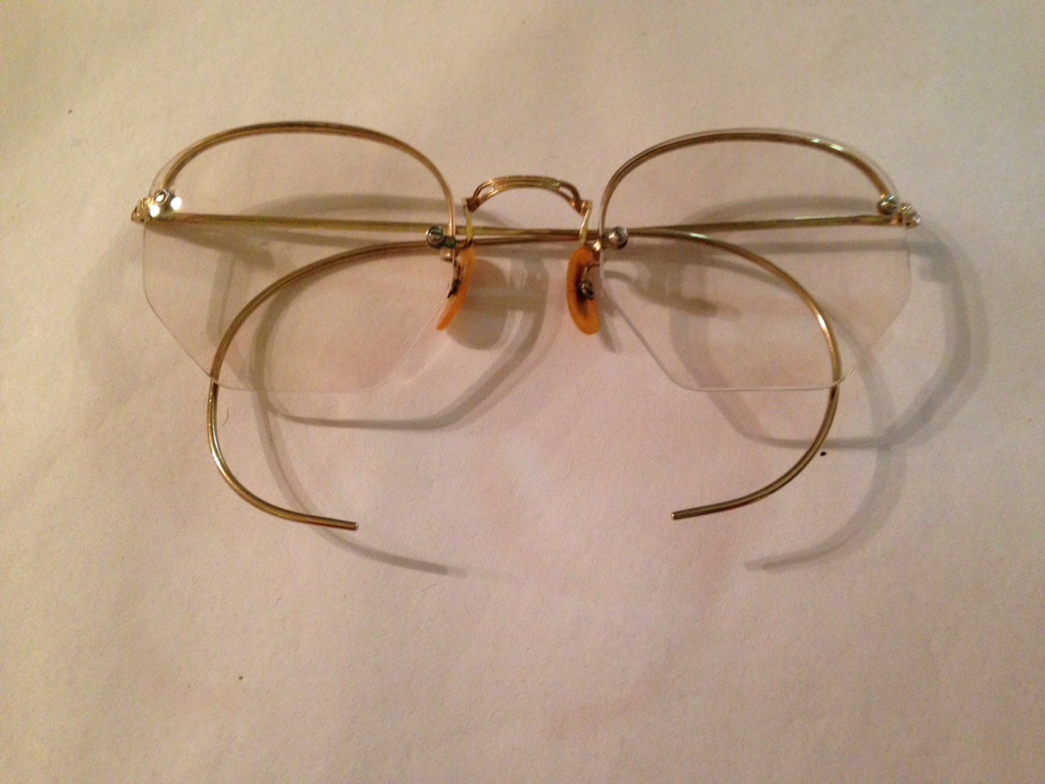 Vintage Bausch & Lomb 12K Gold Filled Rimless by ...