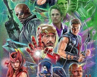 The Avengers (collage)