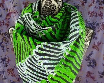 Kitenge Scarf, African Print Scarf, Ankara Scarf, Wax Print, Kitenge Headwrap, African Fabric, African Head Wrap, Batik, Turban, Shawl, Gele