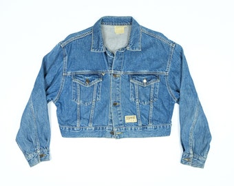 Vintage jean jacket | Etsy