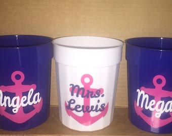 Personalized tumblers for Bridal Party