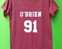 Dylan O'Brien Shirt T-shirt unisex adulst womens clothing Big sister shirt XL XXL