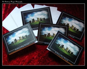 Stonehenge Pack of Five Blank Greeting Cards
