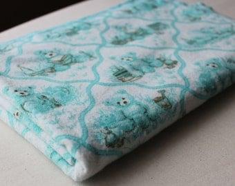 Baby Receiving Blanket/Swaddle Blanket & Burp Cloth