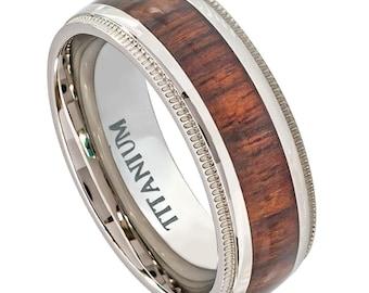 Wedding Band. Titanium Ring  75% off.