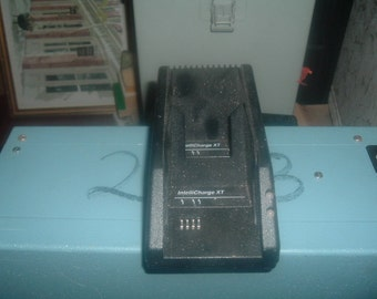 Vintage Intellicharge XT Dual Battery Charger for 1990's  Flip Cell Phone