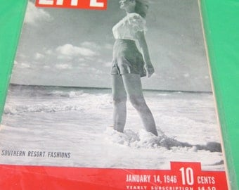Life Magazine January 14, 1946 - Southern Resort Fashion