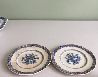 Set of 2 Booth China Small Plates