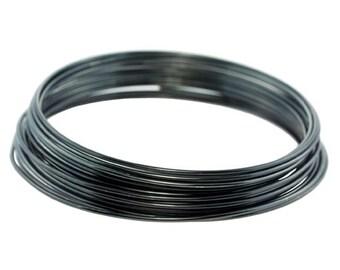 Craft Wire Tarnish Resistant Blue Steel Round Wire 16ga 5yd (WR6716BS)