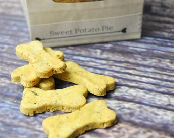 Dog Treats- Sweet Potato Pie- Vegan- Organic - Homemade