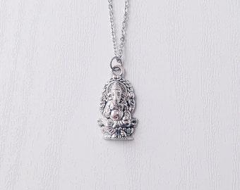 Ganesh Indian Elephant Necklace | Hinduism | Boho Necklace | Gypsy Jewelry