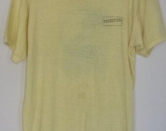 Vintage Distressed Ponderosa / Spring River Classic V Tshirt