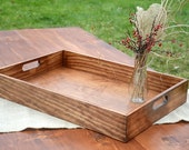 Everyday Rustic Wood Tray