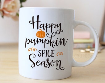 Pumpkin Spice Coffee Mug - Pumpkin Spice Season