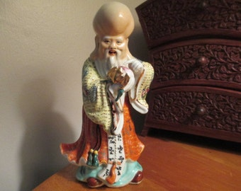 Chinese Immortal Porcelain figure