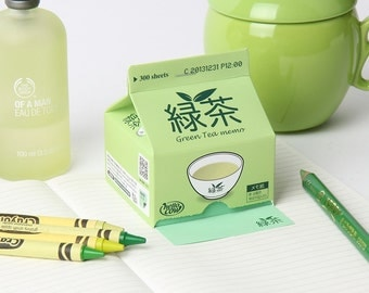 Note pad [ Green Tea Memo pad ] / 300 sheets / Memo pad