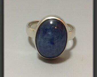 Kyanite ring US size 9