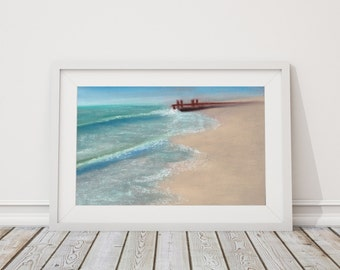 Destination: Inspiration Print from Pastel Drawing