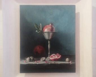 Abundance - oil painting on MDF board
