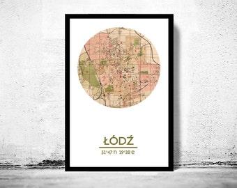POZNAN - city poster - city map poster print