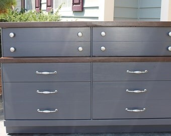 SOLD******Refinished Mid Century Modern Dresser or Buffet