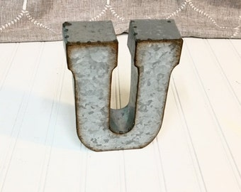 Etsy your place to buy and sell all things handmade for Where can i buy metal letters
