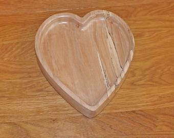 Heart shaped dish.