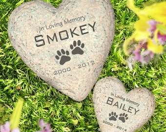 Pet Garden Stone, Memorial stone, Sympathy Stone