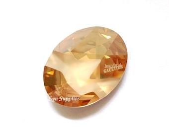 4920 GOLDEN SHADOW 23x18mm Swarovski Crystal Oval Kaputt Fancy Stone Jean Paul Gaultier Limited Edition Winter Collection 2017
