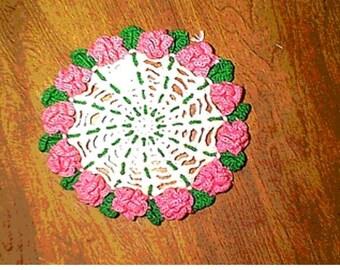 Rose Petal Doily