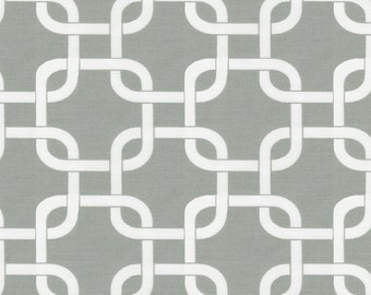 Gray Geometric Fabric - By The Yard - Boy / Girl / Gender Neutral