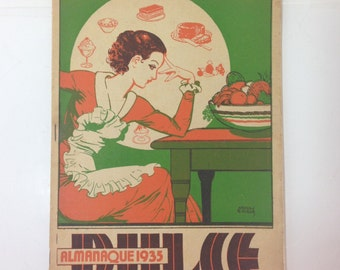 1935 Sweets Recipe Book