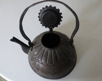Middle Eastern Copper Kettle