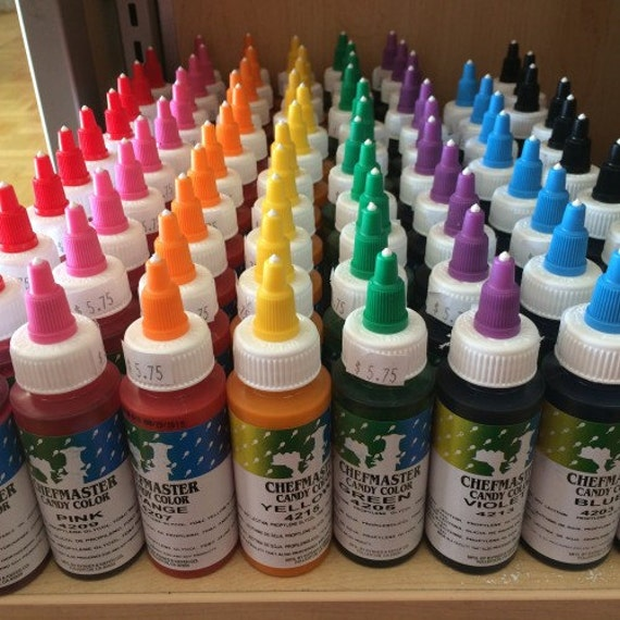 Chefmaster Candy Coloring - Oil Based from BusyBakersSupplies on ...