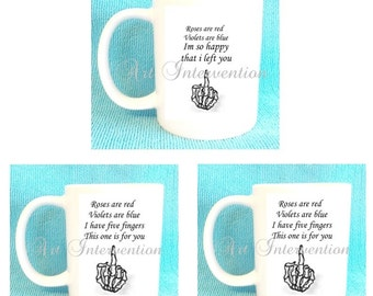 Funny ADULT Valentines Day mugs  FOR EX'S.