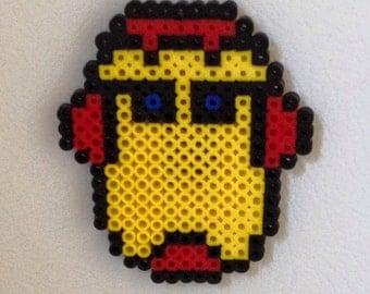 Iron Man Mask Bead Magnet