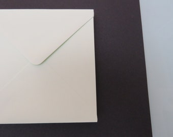 Pale green square envelopes 140mm x 140mm / 5.5 inch x 5.5 inch