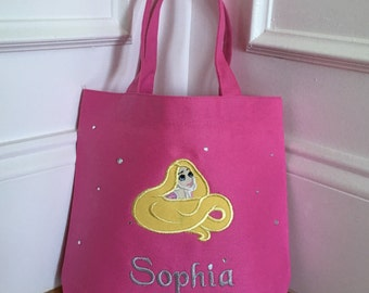Personalized Rapunzel Small Bag / Tote