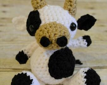Vaca Lechera Amigurumi : Vaca amigurumi Etsy