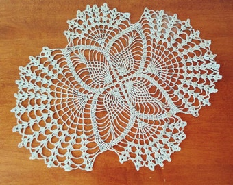 One of its kind vintage crochet napkin