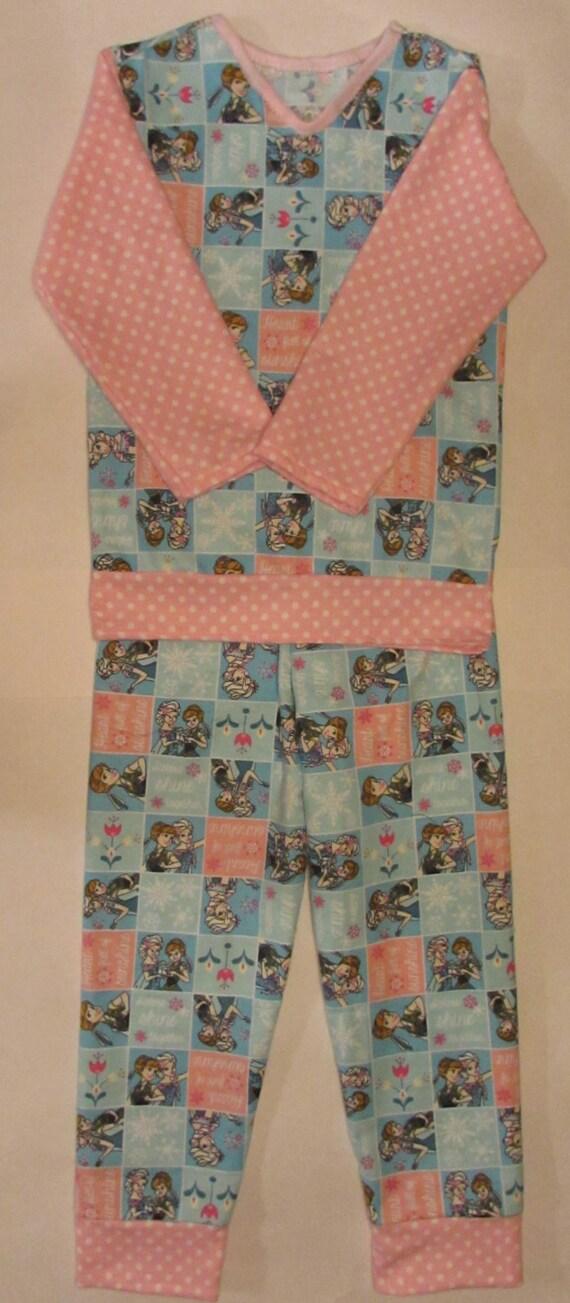Frozen pajamas,winter pajamas,flannel pajamas,Frozen flannel,winter Frozen pajamas,toddler pajamas,girls pajamas,Frozen gift,Frozen