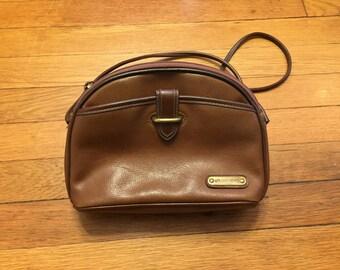 90s Brown Leather Liz Claiborne Purse